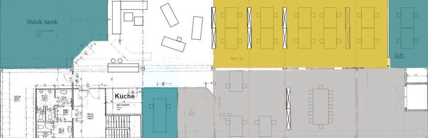 Grundriss der Digitalwerkstatt Dreieich