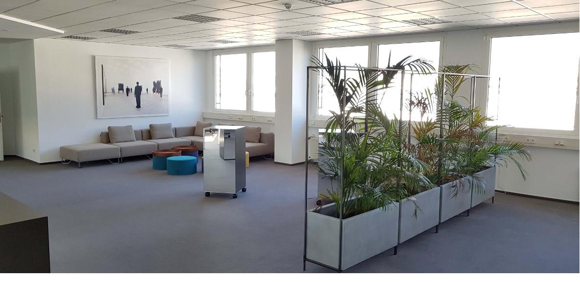 Lounge der Digitalwerkstatt Dreieich